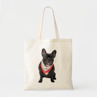 French Bulldog,  dog cute beautiful photo, gift Budget Tote Bag