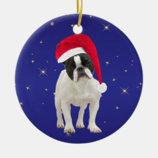 French Bulldog dog holiday decoration ornament
