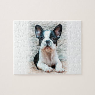 French bulldog dog jigsaw puzzle