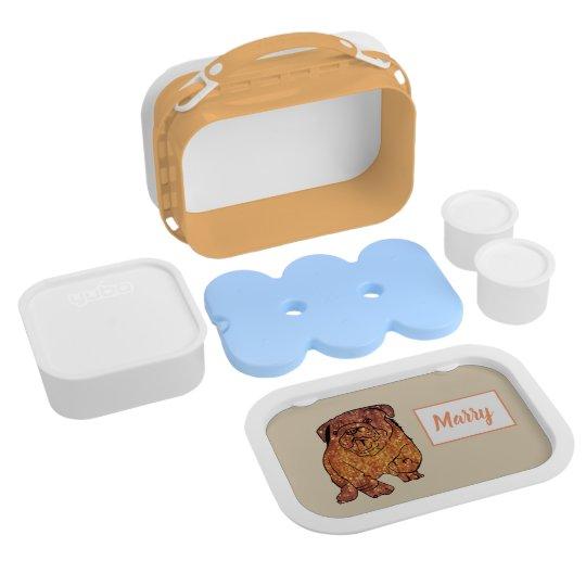 French Bulldog Dog Lunch Box