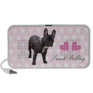 French Bulldog dog portable doodle speakers, gift Speaker System