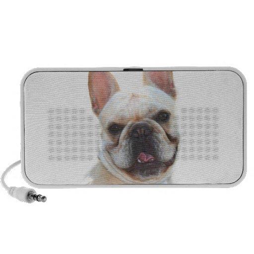 French bulldog doodle speaker