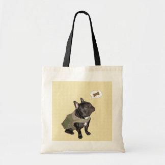 French Bulldog 'Dreaming of Treats' Tote Bag