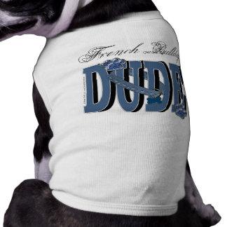 French Bulldog DUDE Sleeveless Dog Shirt