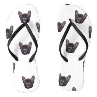 French Bulldog Flip Flops