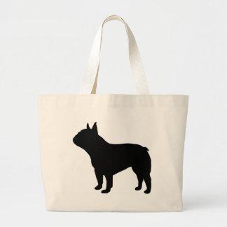French Bulldog Gear` Large Tote Bag