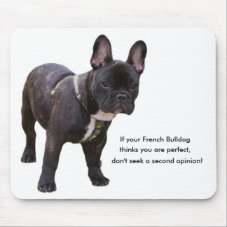 French bulldog humour, funny mousepad, gift mouse mat