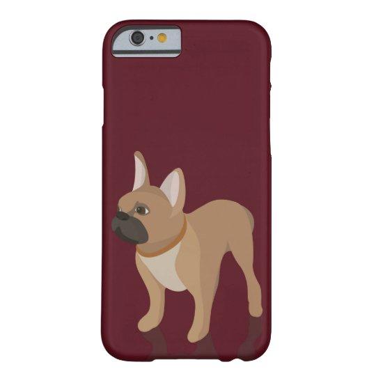 'French Bulldog' Illustration iPhone Case