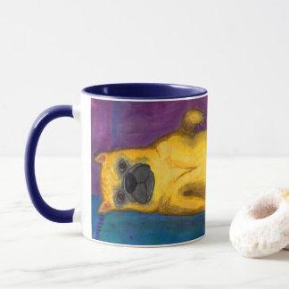 French Bulldog Illustration Mug