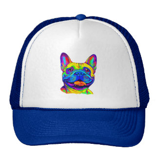 French Bulldog in Colors Cap