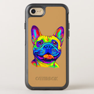 French Bulldog in Colors OtterBox Symmetry iPhone 8/7 Case