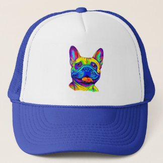 French Bulldog in Colors Trucker Hat