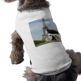 French Bulldog in Paris Dog shirt