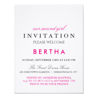 French Bulldog Invitation