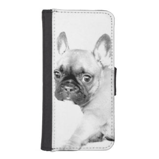 French Bulldog iPhone SE/5/5s Wallet Case