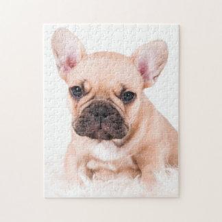 French bulldog. jigsaw puzzle