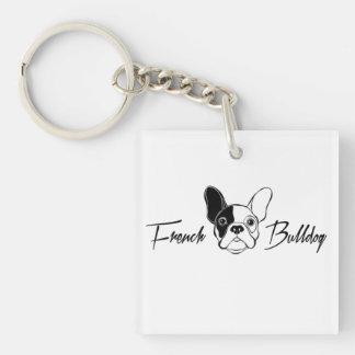 French Bulldog Key Ring