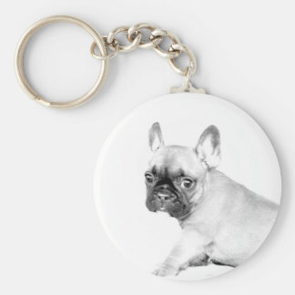 French Bulldog Key Ring