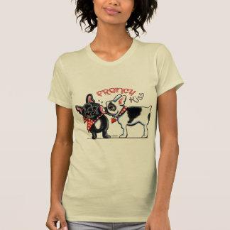 French Bulldog Kiss T-shirt