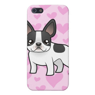 French Bulldog Love (add your own background!) iPhone 5/5S Cases