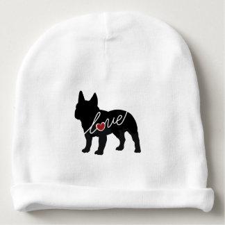 French Bulldog Love Baby Beanie