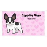 French Bulldog Love Business Card Templates