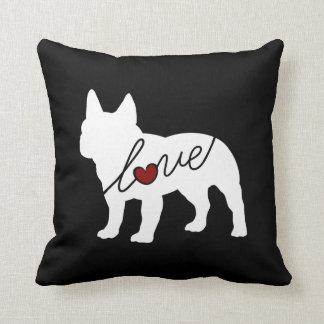 French Bulldog Love Cushion