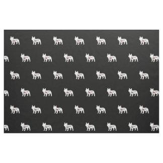 French Bulldog Love Fabric