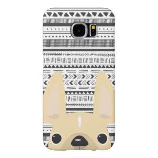 French Bulldog Love Geo Case Cream Mono