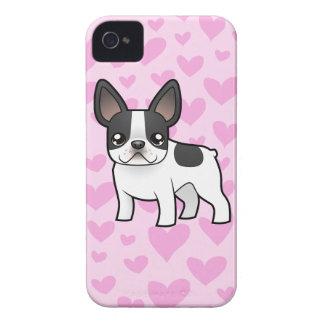 French Bulldog Love iPhone 4 Case-Mate Case