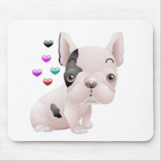 French Bulldog Love Mouse Mat