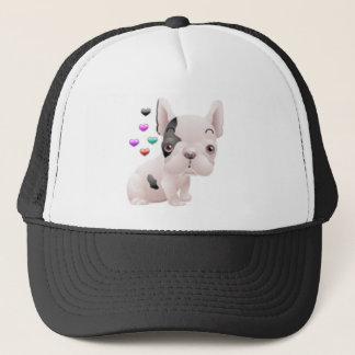 French Bulldog Love Trucker Hat