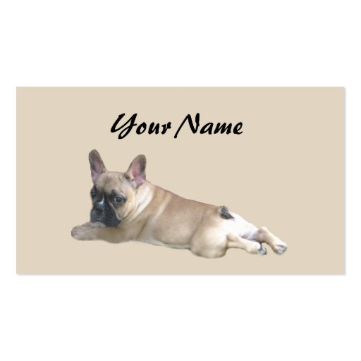 French Bulldog Lover Business Card