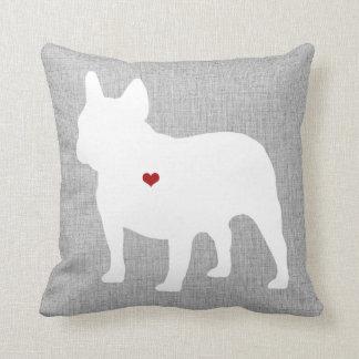 French Bulldog Lover Heart Pet Cushion