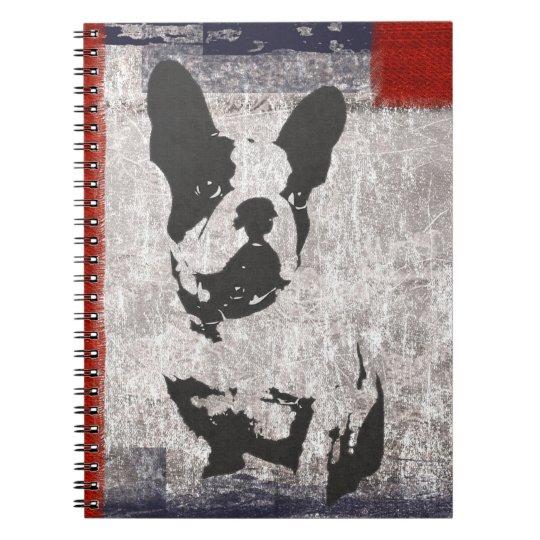 French Bulldog Lover Spiral Notebook