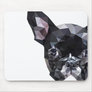 French Bulldog Low Poly Art Mouse Mat