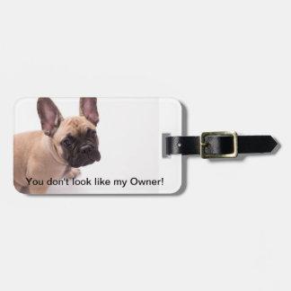 French Bulldog Luggage Tag