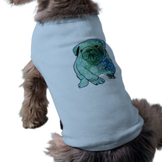 French Bulldog Mandala Art Doggie Ribbed Tank Top