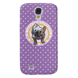 French bulldog mark galaxy s4 case