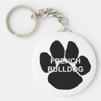french bulldog name mega paw.png key ring