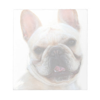 French bulldog notepad