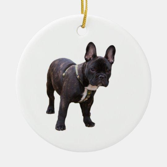 French Bulldog ornament, gift idea Christmas Ornament