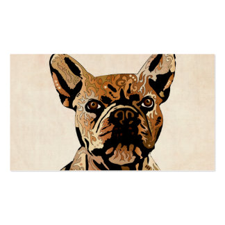 French Bulldog Pack Of Standard Business Cards