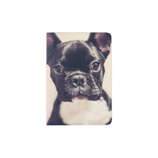 French Bulldog Passport Holder