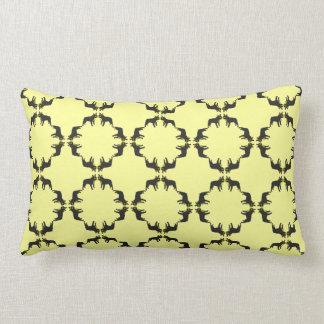 French Bulldog Pattern Lumbar Cushion