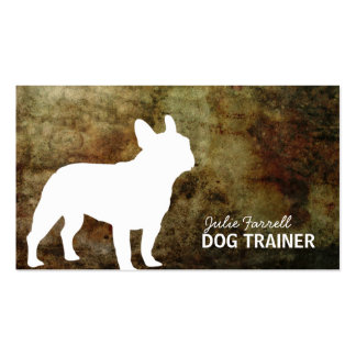 French Bulldog Pet Realated Business Cards