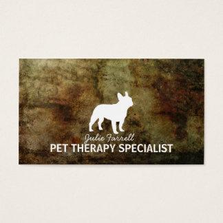 French Bulldog Pet Realated Business Card