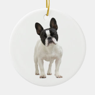 French Bulldog photo ornament, gift idea Christmas Ornament