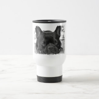 French Bulldog Plastic Travel Mug