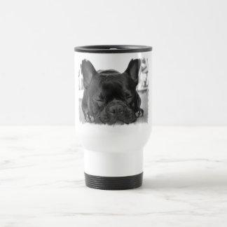 French Bulldog Plastic Travel Mug